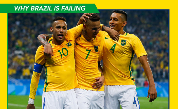 Why Brazil is failing in the International events